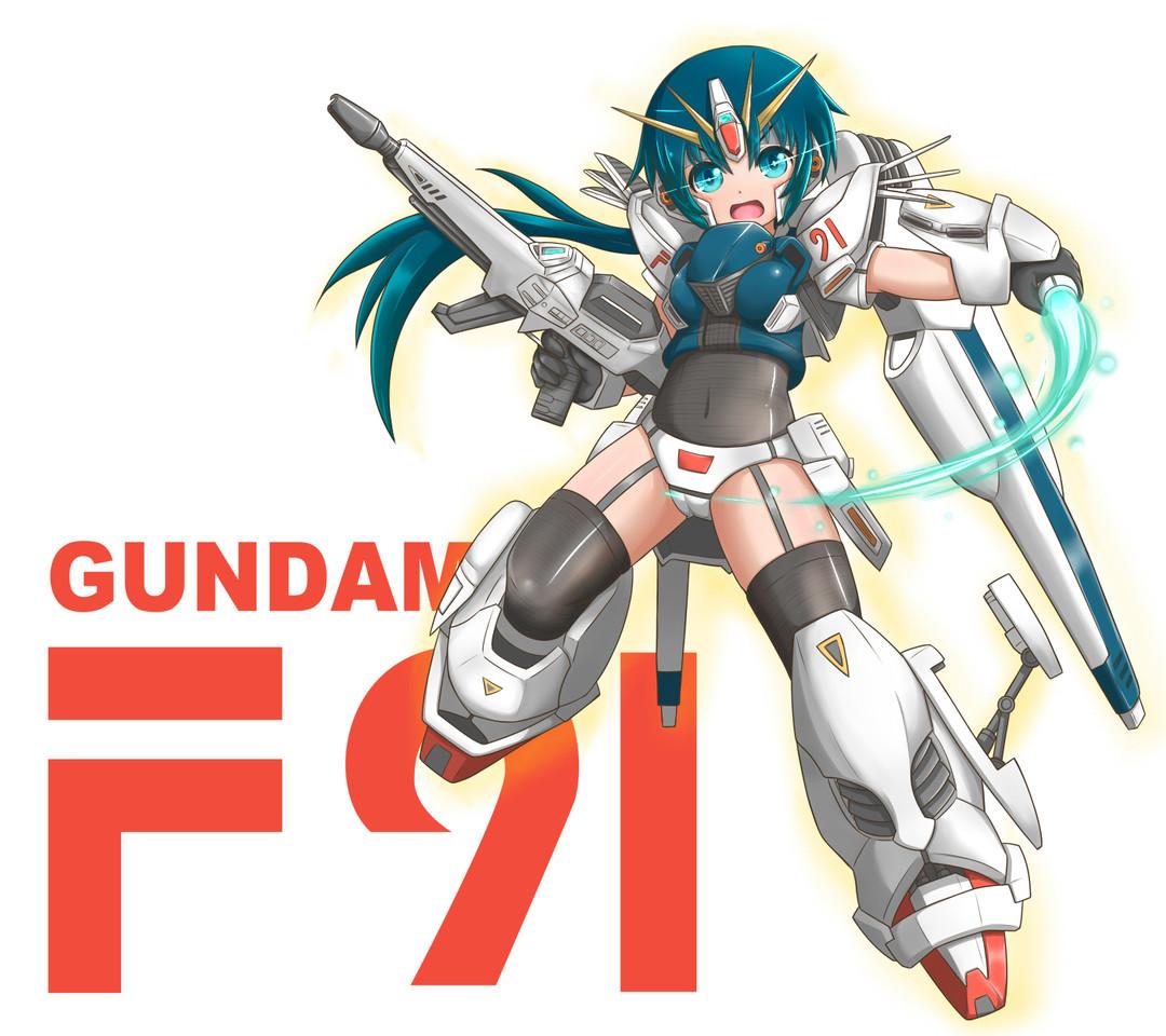 たからもの ガンダム F91 Ms少女 メカ娘 グオルルルー 今回
